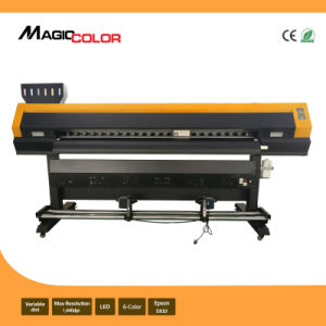 Digital Flex Eco Solvent Printer with 2 Printheads of Epson Dx10 pictures & photos