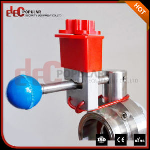 Elecpopular China Products Corrosion Resistance Sanitary Universal Butterfly Valve Lockout pictures & photos