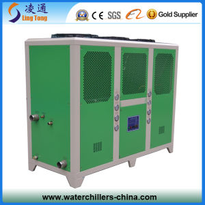 Industrial Air Cooled Water Chiller Refrigeration Units / Central Air Conditioner Scroll Air Cooled Chiller pictures & photos