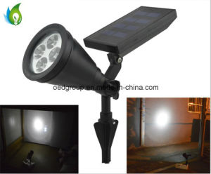 China Supplier Solar High Power 0.5W 4PCS LED Plastic Spotlight pictures & photos