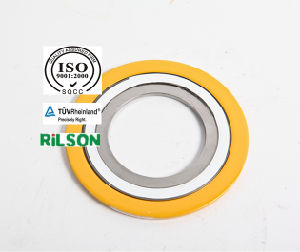 Spiral Wound Gasket with Inner and Outer Ring (SWG RS1-CGI) 304 & Graphite Asme Standard pictures & photos