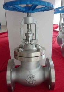 ANSI Wcb Flanged Globe Valve 150lb pictures & photos