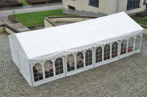 10′x20′/10′x30′ White Outdoor Party Tent Gazebo Wedding Canopy W/Side Walls (PT20) pictures & photos