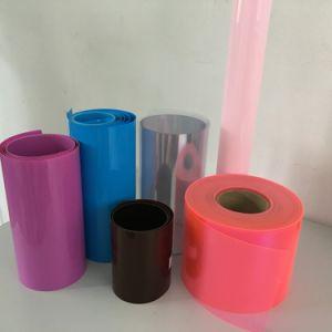 Amber Pharmaceutical Clear Rigid Plastic Film PVC pictures & photos