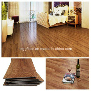 Customized Thickness Golden Select Flooring PVC Vinyl Click Plank Flooring pictures & photos