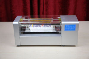 Roll to Roll Hot Foil Stamping Machine, Digital Gold Foil Ribbon Printer 360mm pictures & photos