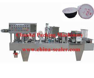 Bowl Filling and Sealing Machine (BG60A-4C) pictures & photos