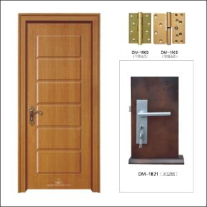 (PVC-M-018) High Quality Popular Design MDF PVC Door
