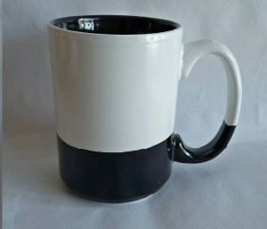 Black and White 15 Oz Ceramic & Coffee Mug pictures & photos
