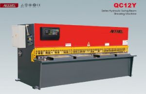 CNC Hydraulic Swing Beam Shearing Machine pictures & photos