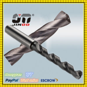 High Performance Solid Carbide Drills with 3 Flutes pictures & photos