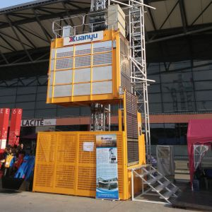 Frequency High Speed Construction Building Lifter/Hoist with Customizable pictures & photos
