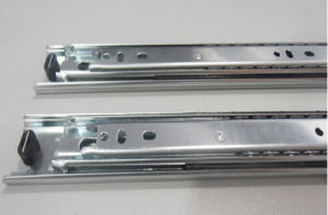 Side Mounting Zinc Plated Drawer Runners pictures & photos