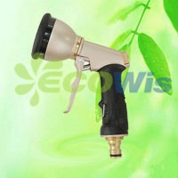 9 Pattern Trigger Hose Spray Nozzle Gun (HT1333) pictures & photos