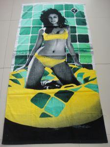 100% Cotton Printed Beach Towel
