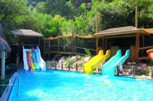 Scenic Small Pool Slide pictures & photos