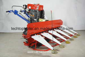 Walk Type Rice and Wheat Combine Harvester pictures & photos