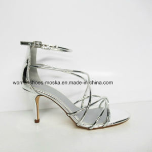 Sexy fashion High Heel Women Sandals with Peep Toe pictures & photos
