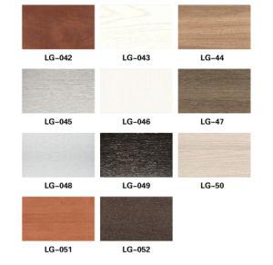Waterproof WPC Wood Plastic Composite Wardrobe Sliding Door Panel (PB-150) pictures & photos