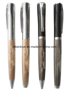 High Quality Metal Pen Gift with Hairline Finish (LT-Y098) pictures & photos