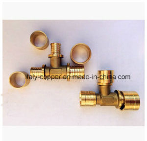 Customized Quality Brass Forged Male Tee (AV9079) pictures & photos