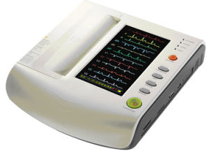 Medical Equipment Digital Electrocardiograph 12 Channel ECG Machine pictures & photos