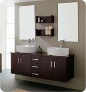 Dual Basin Bathroom Cabinet with Two Person Usage pictures & photos