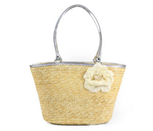 Newest Style Colorful Children Straw Handbag pictures & photos