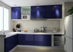 Stainless Steel Kitchen Vanity (MK046)