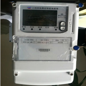 Three Phase Residential / Commercial Meter (LCD Display with Data Downloading) pictures & photos