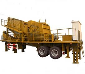 Impact Mobile Crushing Machine (WL3S1860F1214) pictures & photos