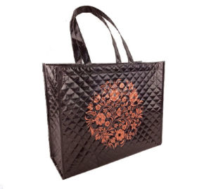 Customized Embossing Handled Non Woven Shopping Bags pictures & photos