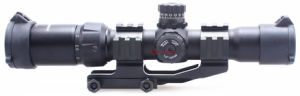 Vector Optics Mustang 1.5-4X 30mm Tactical Rifle Scope Chevron Reticle with One Piece Cantilever Weaver Mount for. 223 Ar15 M4 Plate pictures & photos