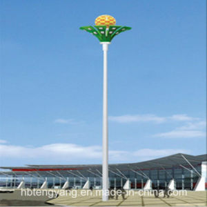 Q235/Q345 Galvanized Steel Telecom Tower or Light Pole pictures & photos
