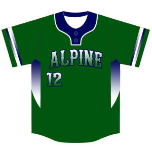 Custom Team Full Sublimation Baseball Shirt with Your Logos pictures & photos