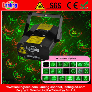 Christmas Mini Laser Stage Lighting 20 Gobos with Gift Box pictures & photos