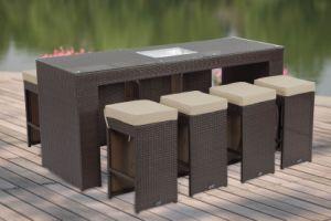 Wicker Furniture Bar Set (PRF-7106)