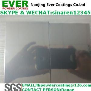 Electrostatic Spray Silver Chrome Mirror Finish Powder Coating Paints pictures & photos