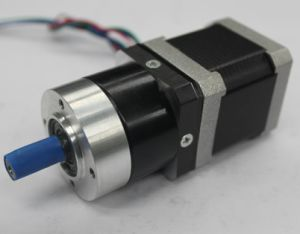 NEMA 17 Gear Reducer Stepper Motor with Planetary Gearbox pictures & photos