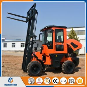 Chinese 3 Ton All Rough Terrain Forklift for Sale pictures & photos