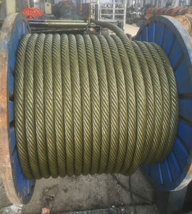 Steel Wire Rope for Elevator /6X19s 6X19W/ Sisal Fibre Core pictures & photos