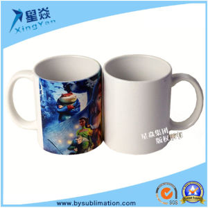 AAA 11oz Ceramic Coating White Mug pictures & photos