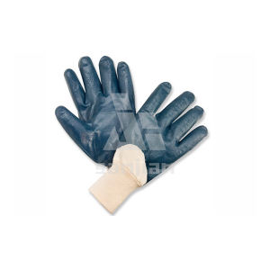 Jersey Lining Nitrile Coated Gloves pictures & photos