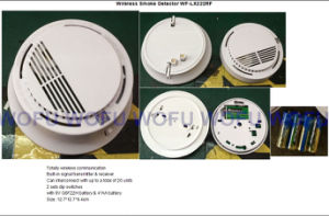 Wireless Smoke Detector Wf-Lx222RF pictures & photos