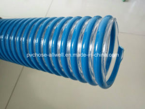 "PVC Plastic Flexible Reinforced Duct Suction Pipe Hose 2"" 3"" pictures & photos"