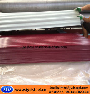 Color Zinc Coated Steel Roof Panel/PPGI pictures & photos