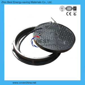 En124 700mm Round Sealed Manhole Covers with Handle pictures & photos