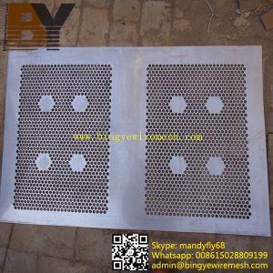 External Decorative Aluminum Perforated Metal Sheet Metal Fence pictures & photos