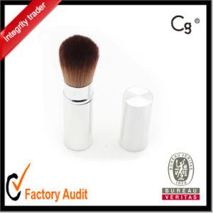 Silver Aluminium Custom Retractable Makeup Brush pictures & photos