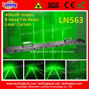 400MW Green 8-Head Fat-Beam Laser Curtain (LN563) pictures & photos
